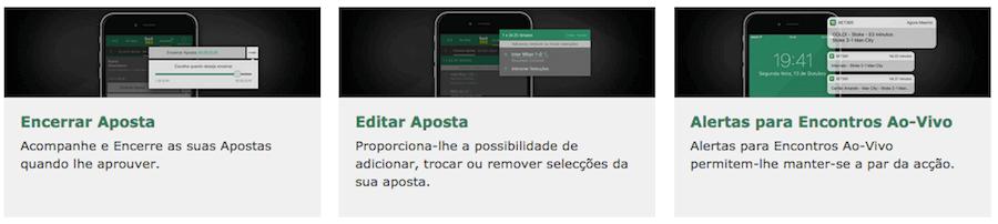 bet365 móvel Funcionalidades