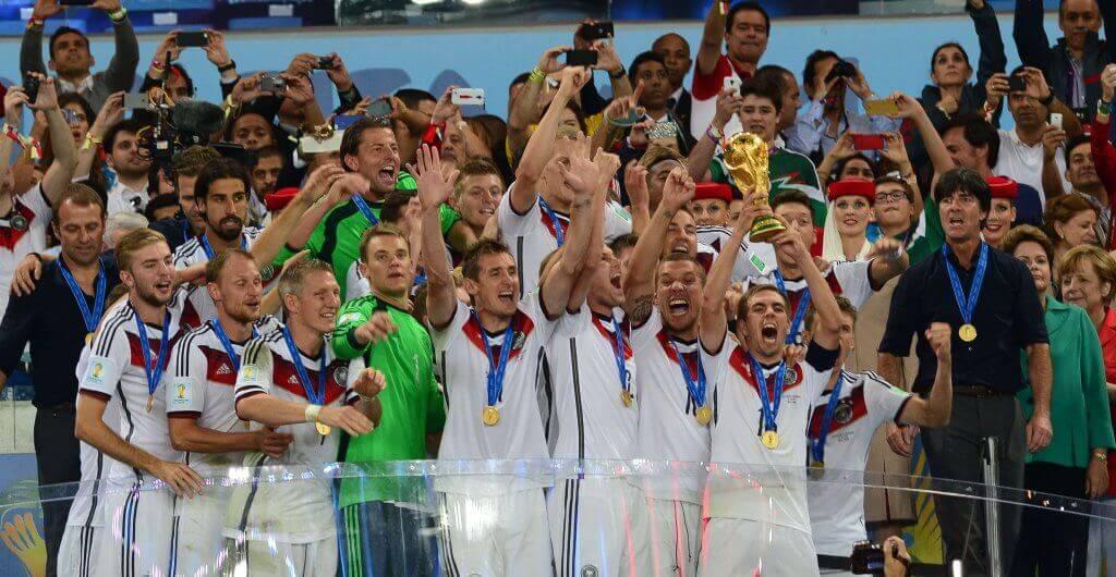 a equipa alemá vencedora do mundial de futebol 2014