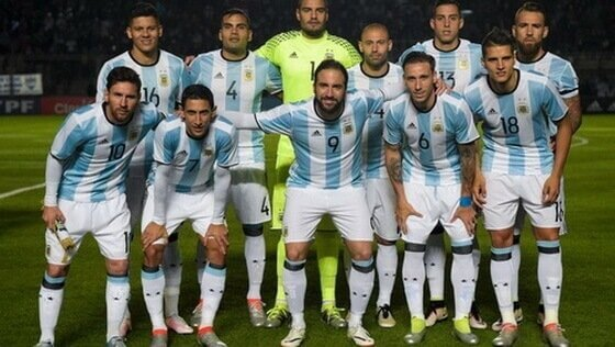 equipa argentina futebol 2017