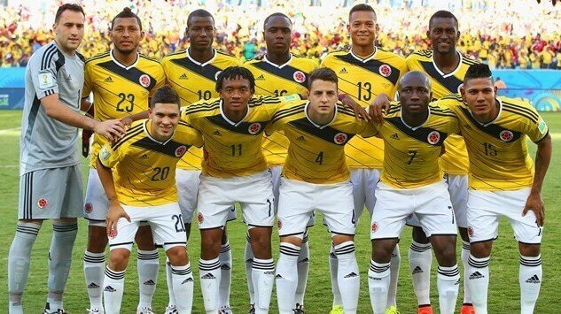 equipa colombia mundial 2018