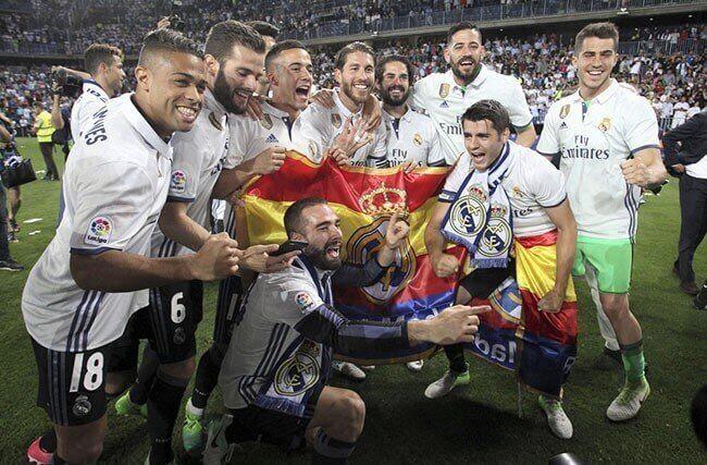 real madrid ganha liga 2017
