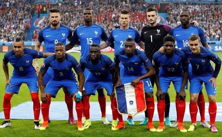 selecao futebol francesa 2017