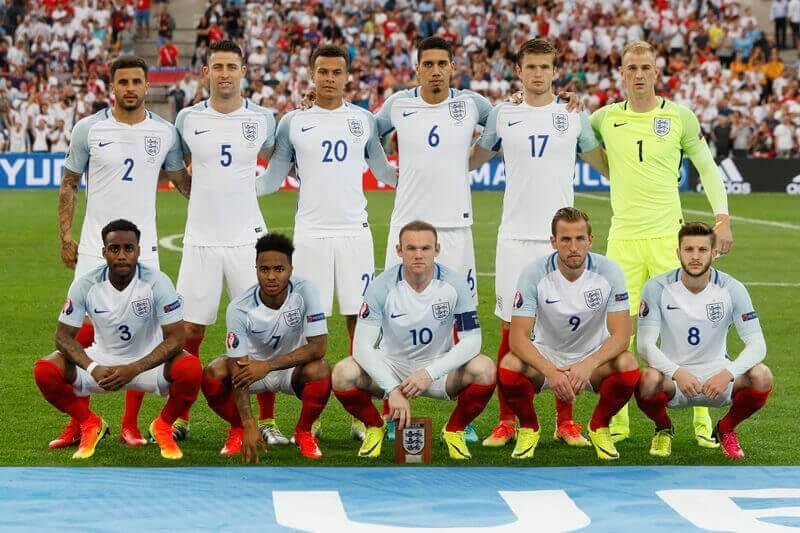 selecao futebol inglesa 2017