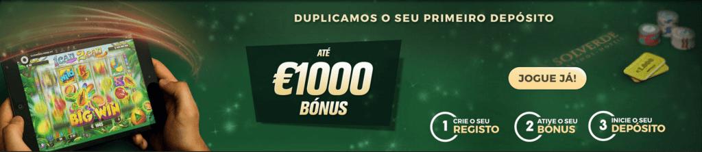Casino Solverde bónus
