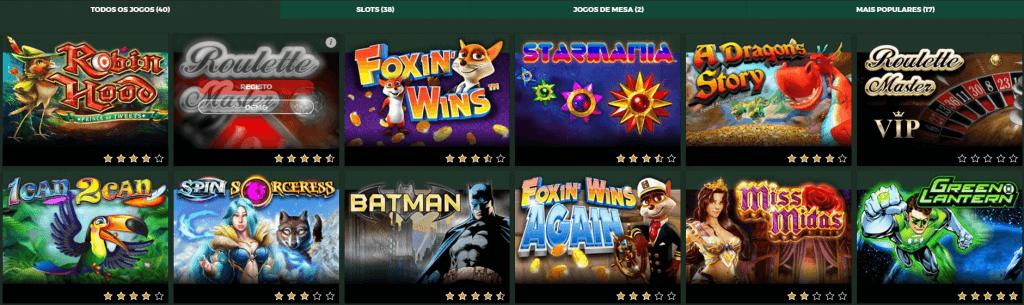 Casino Solverde jogos casino