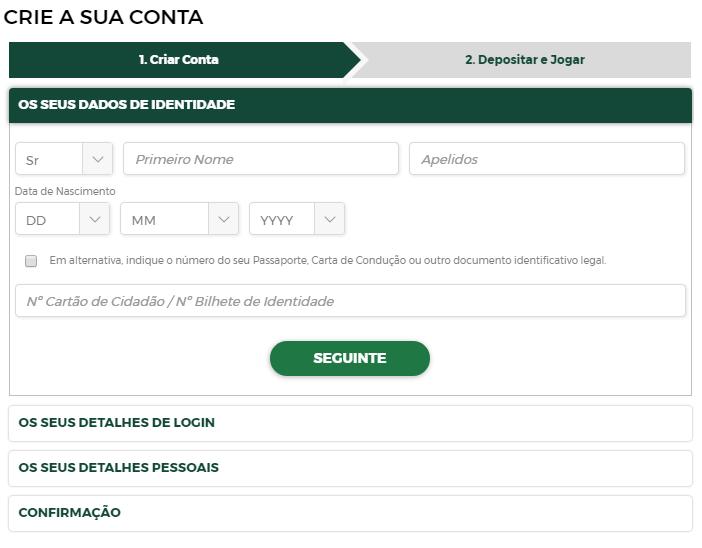 Casino Solverde registro
