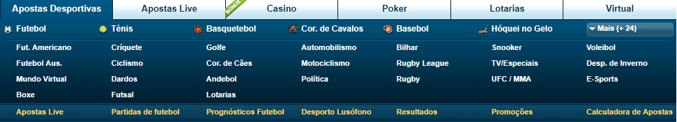 William Hill apostas desportivas