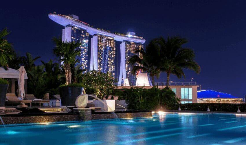 Singapur by night
