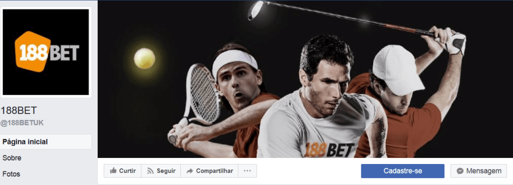 188bet site de Facebook