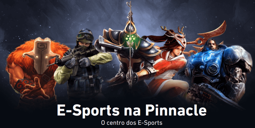 Bónus Pinnacle e-sports