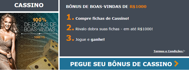 Rivalo Bônus de Boas-Vindas em Casino