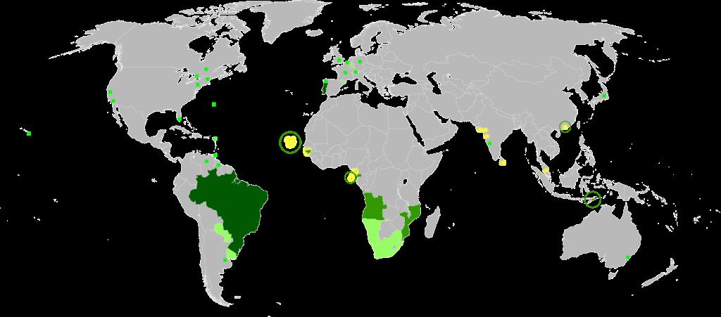 paises lusofonos