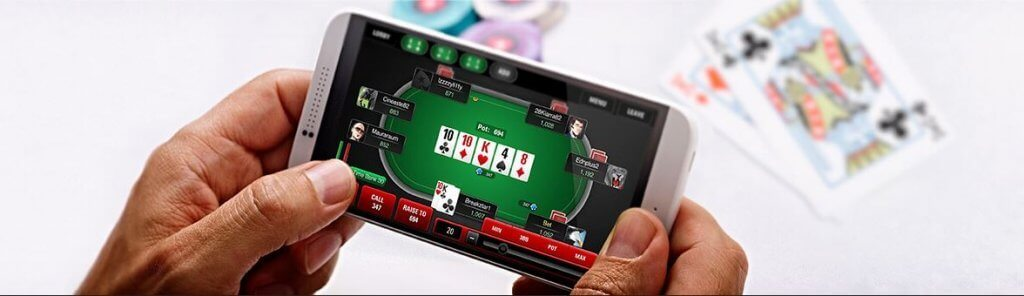 Registre-se no Pokerstars mobile