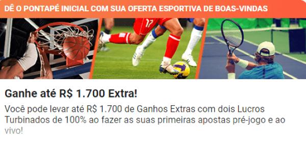 LeoVegas Bônus de Boas-vindas Esporte