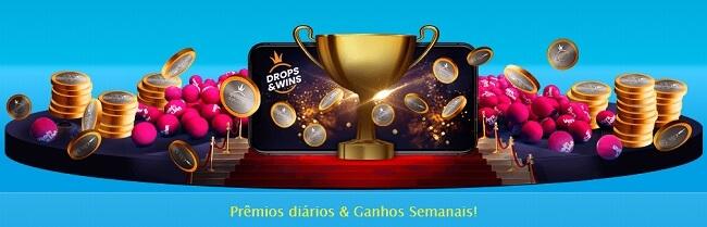 Prêmios Diários & Ganhos Semanais