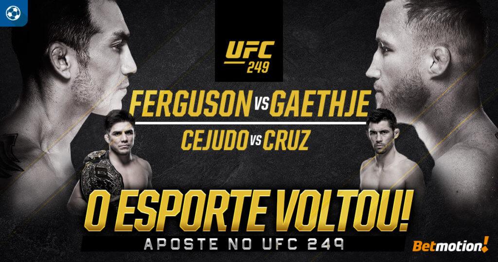 Betmotion UFC 249