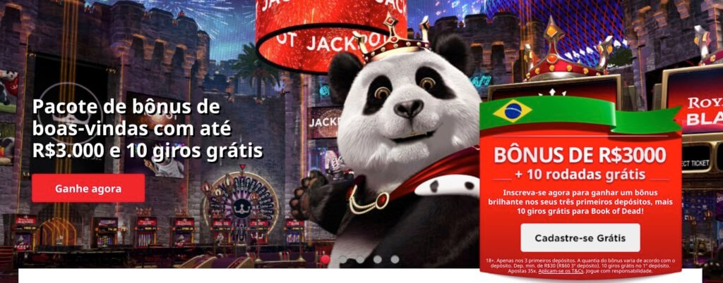 Royal Panda bónus