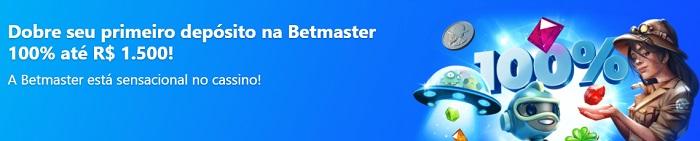 Betmaster Bônus Boas-vindas no Casino