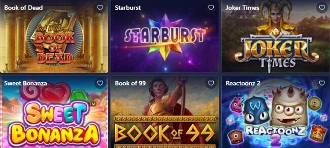Betmaster Jogos de Casino